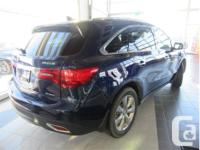 Make Acura Model MDX Year 2015 Colour Blue kms 76837