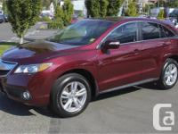 Make Acura Model RDX Year 2015 Colour Red kms 49292