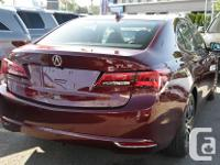 Make Acura Model Tlx Year 2015 Colour Red kms 44000