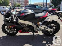 Year 2015 kms 18680 Right from the start, the Aprilia