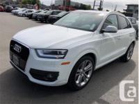 Make Audi Model Q3 Year 2015 Colour White kms 54628