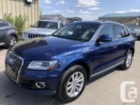 Make Audi Model Q5 Year 2015 Colour Blue kms 136000