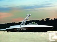 Optional Flight Series Package includes wakeboard