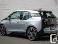 Make BMW Model i3 Year 2015 Colour Silver kms 17000