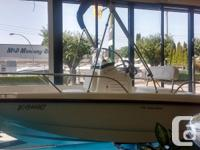 2015 Boston Whaler 170 DauntlessFactory Installed
