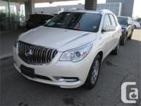 Make Buick Model Enclave Year 2015 Colour White kms