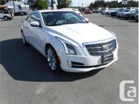 Make Cadillac Model Ats Coupe Year 2015 Colour White, used for sale  British Columbia