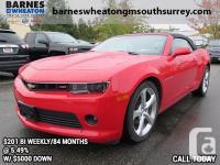 2015 Chevrolet Camaro LT Local Vehicle - No Accidents -