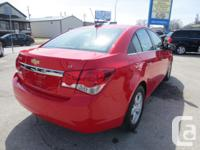 Make Chevrolet Model Cruze LT Year 2015 Colour RED kms