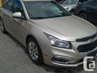 Make Chevrolet Model Cruze LT Year 2015 Colour Gold