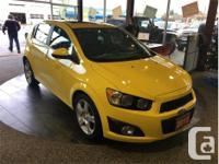 Make Chevrolet Model Sonic Year 2015 Colour Yellow kms