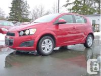 Make Chevrolet Model Sonic Year 2015 Colour Crystal Red