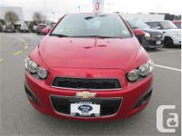 Make Chevrolet Model Sonic Year 2015 Colour Racing Red