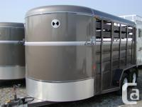 Lots in Stock, Brand new Corn Pro stock trailers, seven