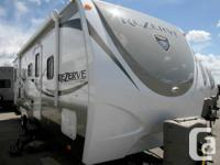 2015 CROSSROADS RV ZINGER REZERVE 28BH Holiday Trailer