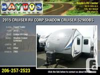 2015 Cruiser Recreational Vehicle Corp Shadow Cruiser