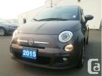 Make Fiat Model 500 Year 2015 Colour Grey kms 35249