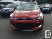 Make Ford Model Escape Year 2015 Colour Red kms 166