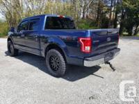 Make Ford Model F-150 Year 2015 Colour BLUE kms 20000