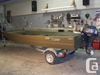 - Comes with a 1200 lb. Galvanized trailer with torsion
