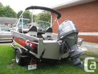 2015 G3 Angler V172FS aluminum fish and ski bowrider,