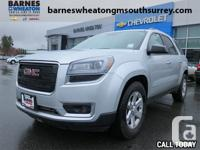 2015 GMC Acadia SLE Well Maintained - Low KMS - GM
