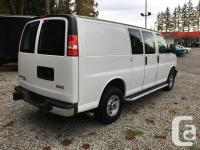 Make GMC Model Savana Cargo Van Colour white Trans
