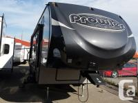 Don't miss out on this beautiful 5th wheel by Prowler.