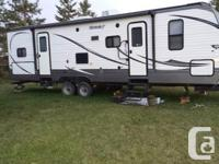 2015 Keystone Hideout 29BHS Camper with 7 year extended