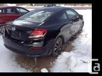 Make Honda Model Civic Coupe Year 2015 Colour Black