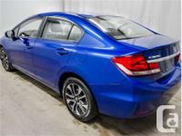 Make Honda Model Civic Year 2015 Colour Blue kms 54944