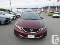 Make Honda Model Civic Year 2015 Colour Red kms 42641