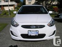 Make Hyundai Model Accent Year 2015 Colour White kms
