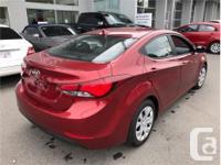 Make Hyundai Model Elantra Year 2015 Colour Red kms