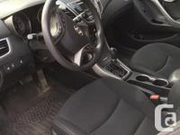 Make Hyundai Model Elantra Year 2015 Colour White kms