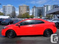 Make Kia Model Forte Koup Year 2015 Colour Red kms