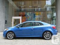 Make Kia Model Forte Koup Year 2015 Colour Blue kms