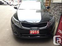 Make Kia Model Optima Year 2015 Colour Black kms 6969
