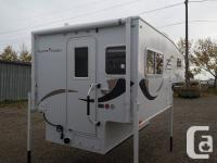 This little camper features the shower bathroom design,