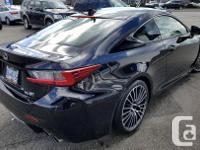 Make Lexus Model Rc F Year 2015 Colour Black kms 27086