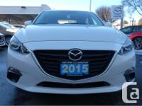 Make Mazda Model Mazda3 Sport Year 2015 Colour White