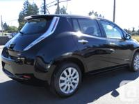 Make Nissan Model Leaf Year 2015 Colour BLACK Trans