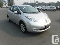 Make Nissan Model Leaf Year 2015 Colour Silver kms