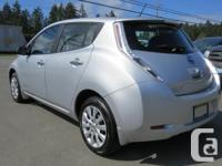Make Nissan Model Leaf Year 2015 Colour Silver Trans