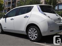 Make Nissan Model Leaf Year 2015 Colour White kms 3338