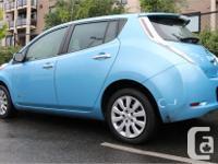 Make Nissan Model Leaf Year 2015 Colour Blue kms 40038