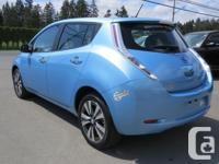 Make Nissan Model Leaf Year 2015 Colour BLUE Trans