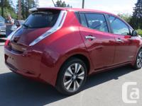 Make Nissan Model Leaf Year 2015 Colour RED kms 78