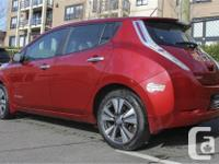 Make Nissan Model Leaf Year 2015 Colour Red kms 38564