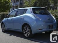 Make Nissan Model Leaf Year 2015 Colour Blue kms 32479